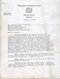 Letter from Daniel McLeod to James Ellisor, October 21, 1974
