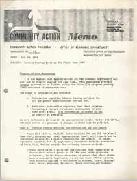 Community Action Program Memorandum No. 43