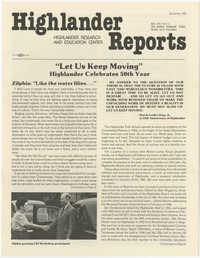 Highlander Reports, December 1981