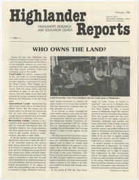 Highlander Reports, February 1980