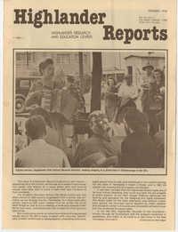 Highlander Reports, December 1978