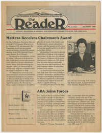 The Reader, Volume 8, Number 4, December 1986