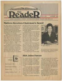 The Reader, Volume 8, Number 4, December 1986