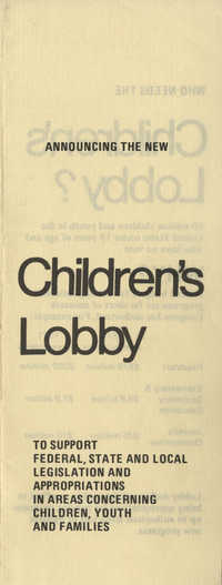 Children's Lobby Pamphlet