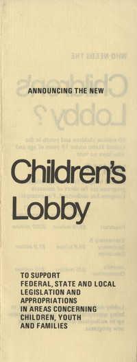 Children's Lobby Pamphlet