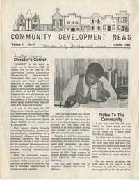 Community Development News, Volume II, Number II
