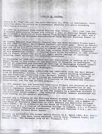 Charles D. Ravenel Biography