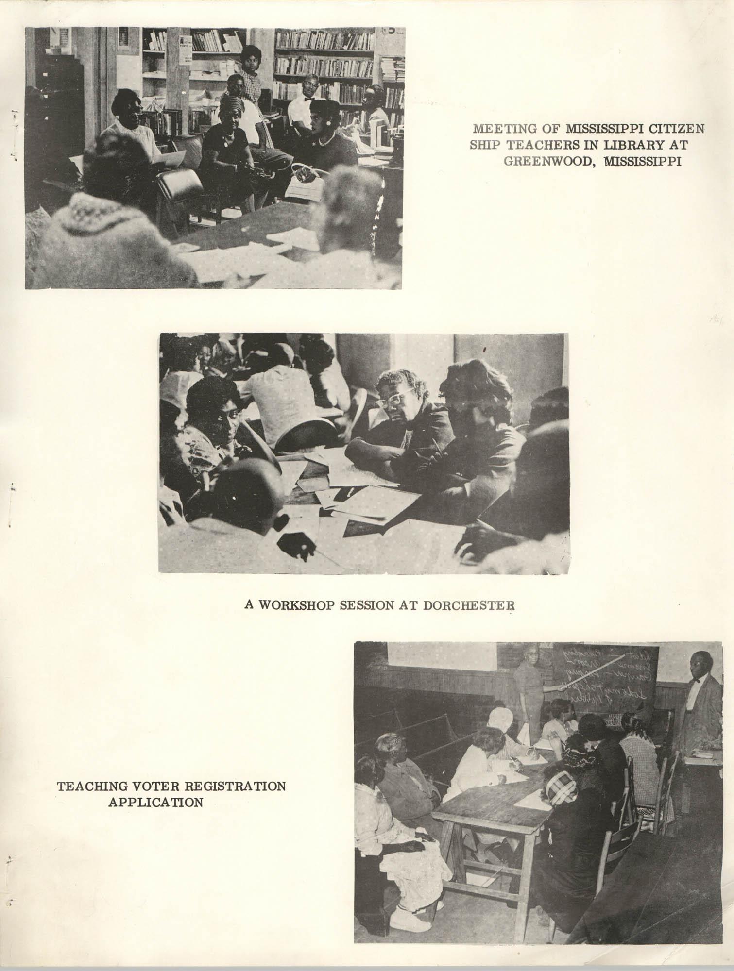 Citizenship School Photographs