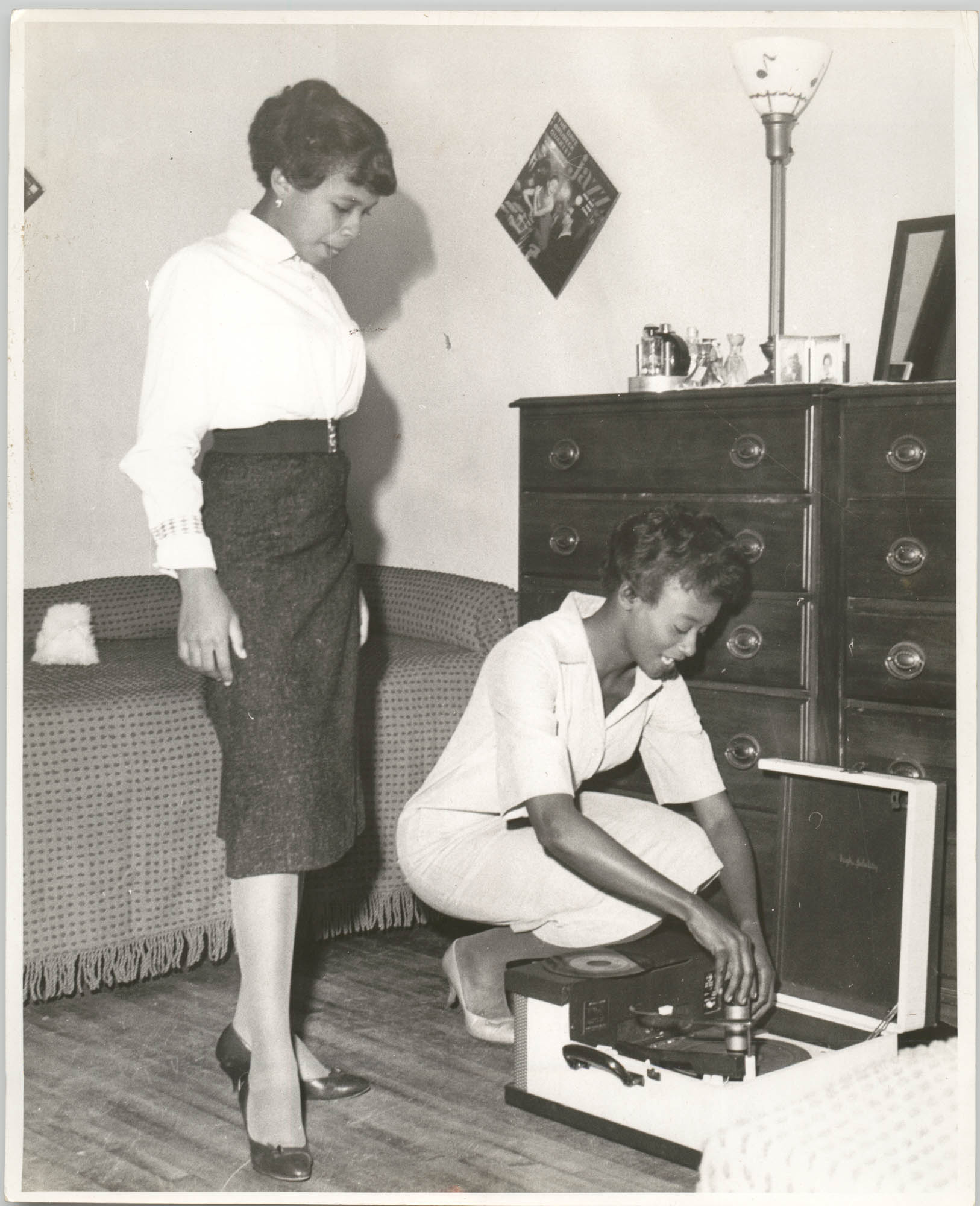 Photograph of Two Women at Talladega College
