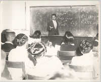Photograph of Class at Talladega College