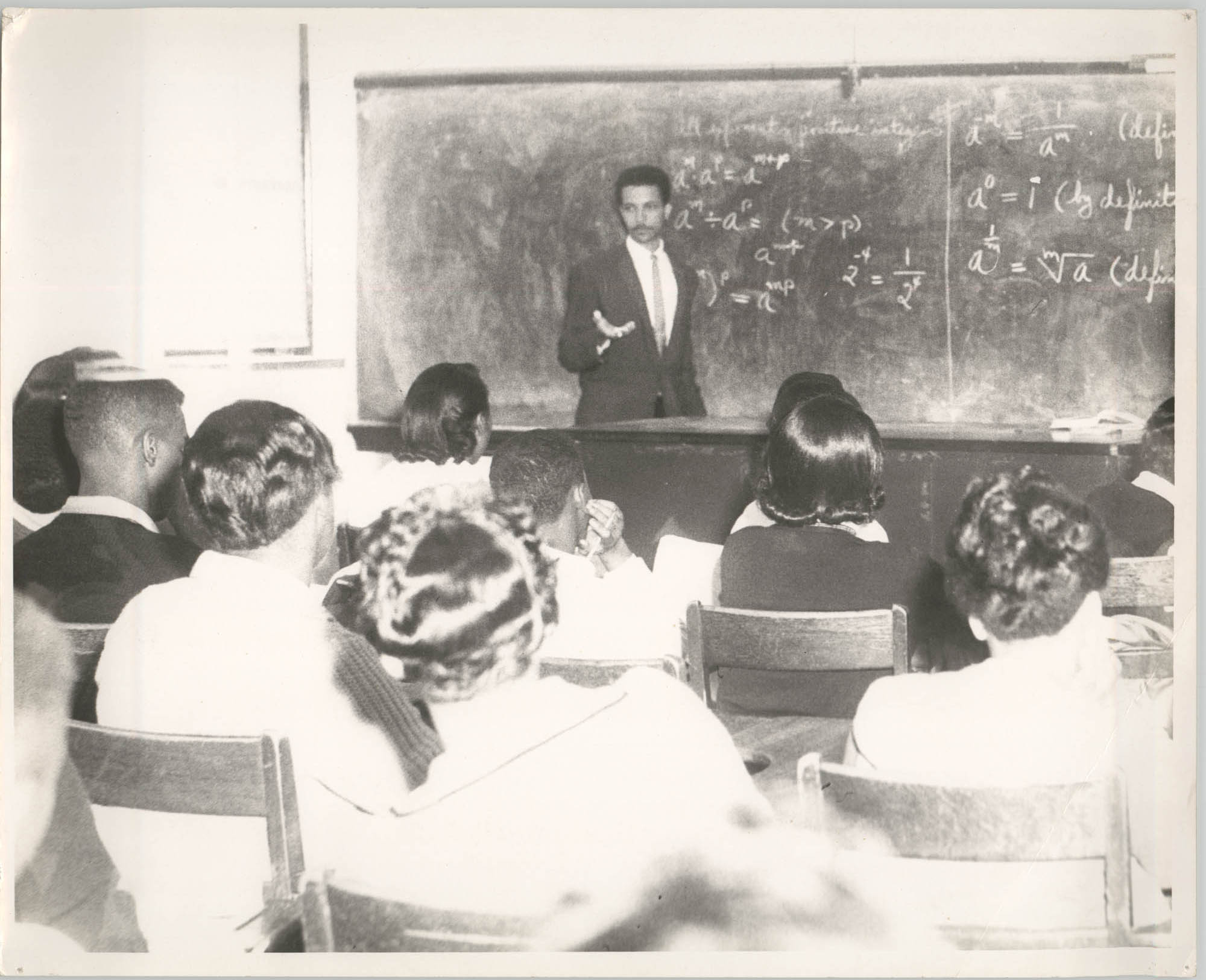 Photograph of Class at Talladega College