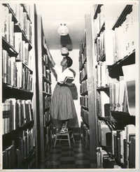 Photograph of a Woman at Talladega College