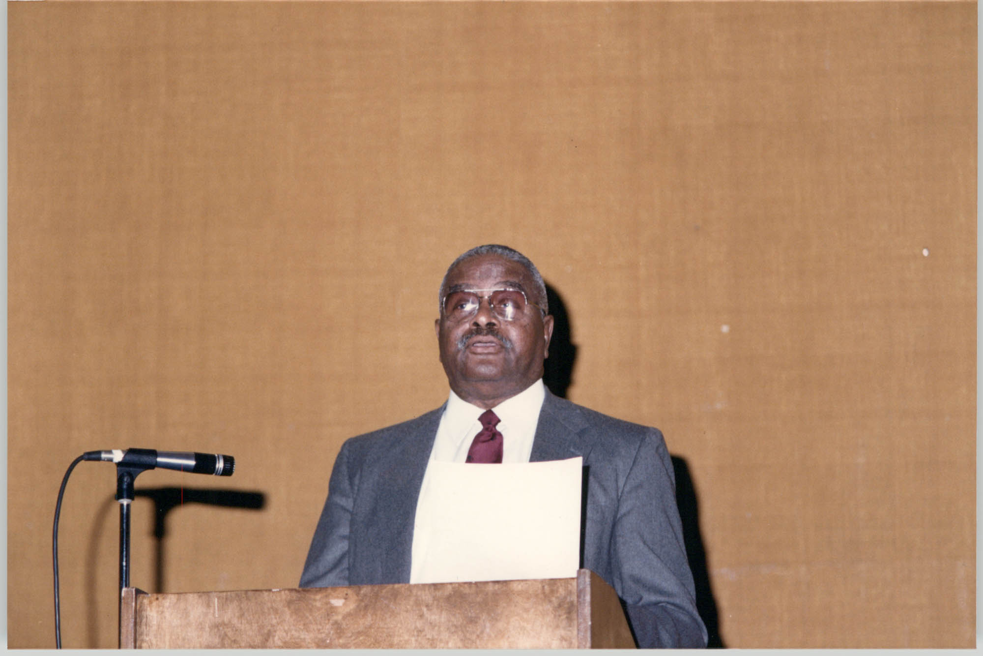 Photograph of Leroy F. Anderson at a College of Charleston Event