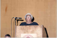 Photograph of Hilda Jefferson at a College of Charleston Event