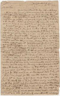 008.  William H. W. Barnwell to Edgar B. Day -- September 3, 1832
