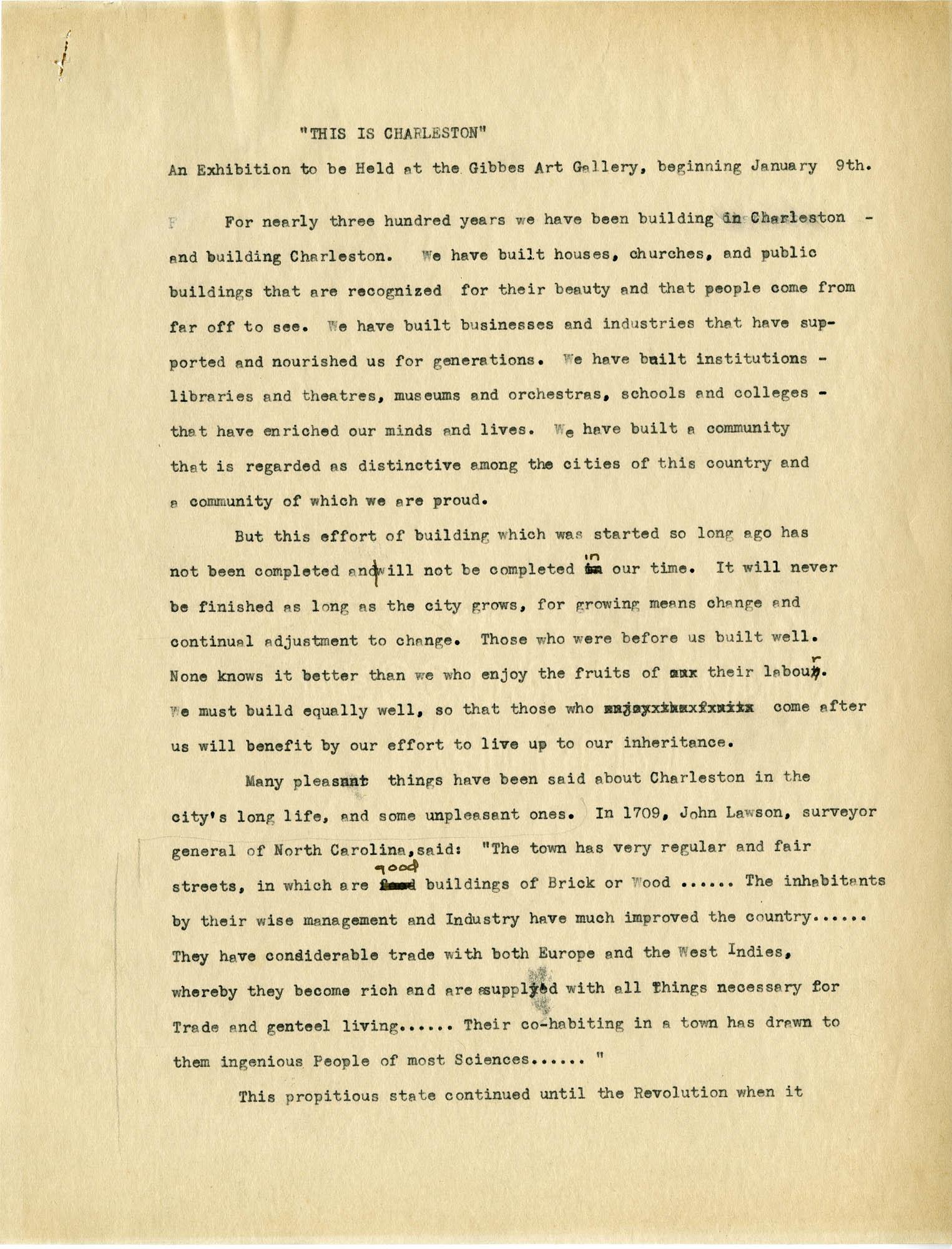 Folder 29: Exhibit Description