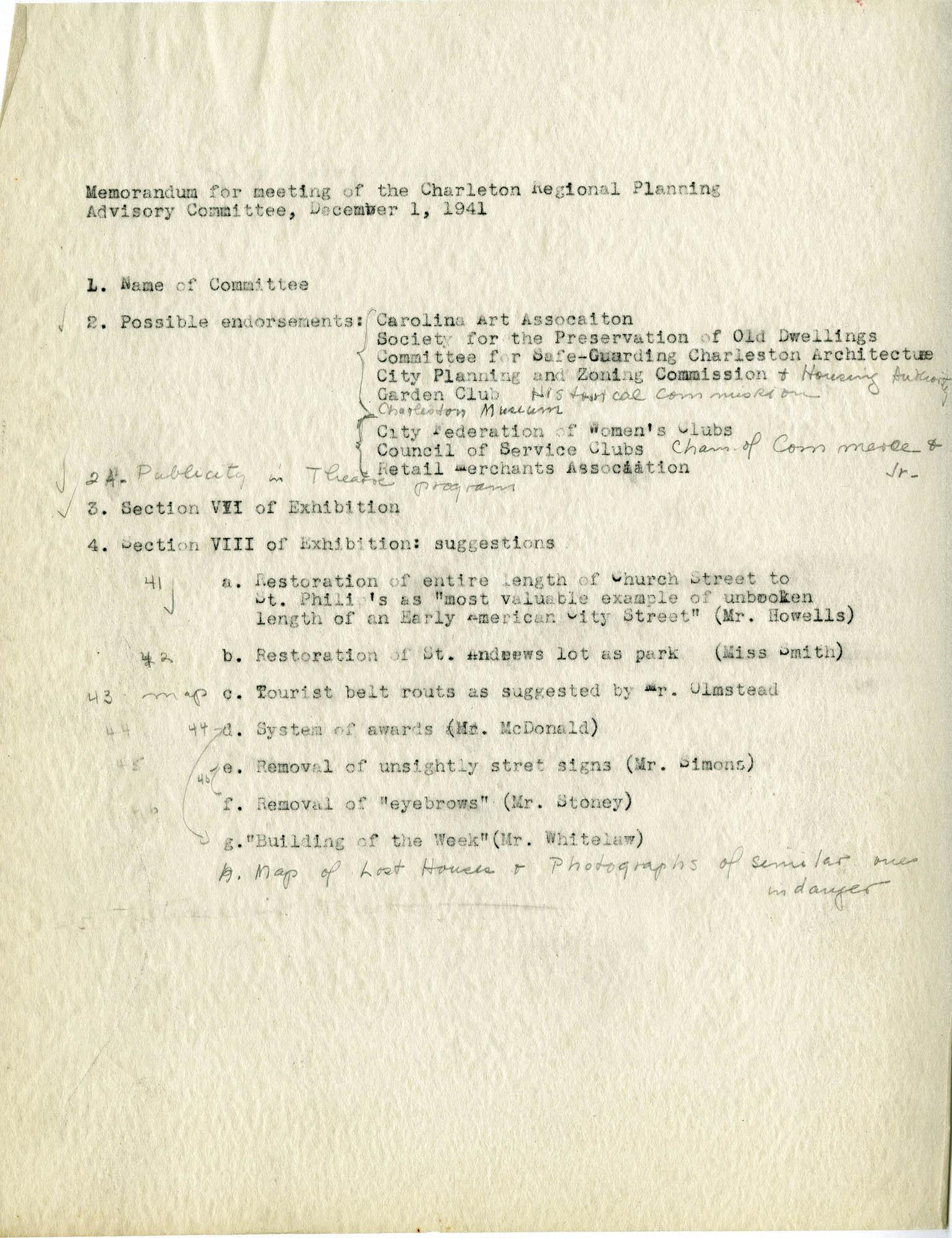 Folder 29: Memorandum 1
