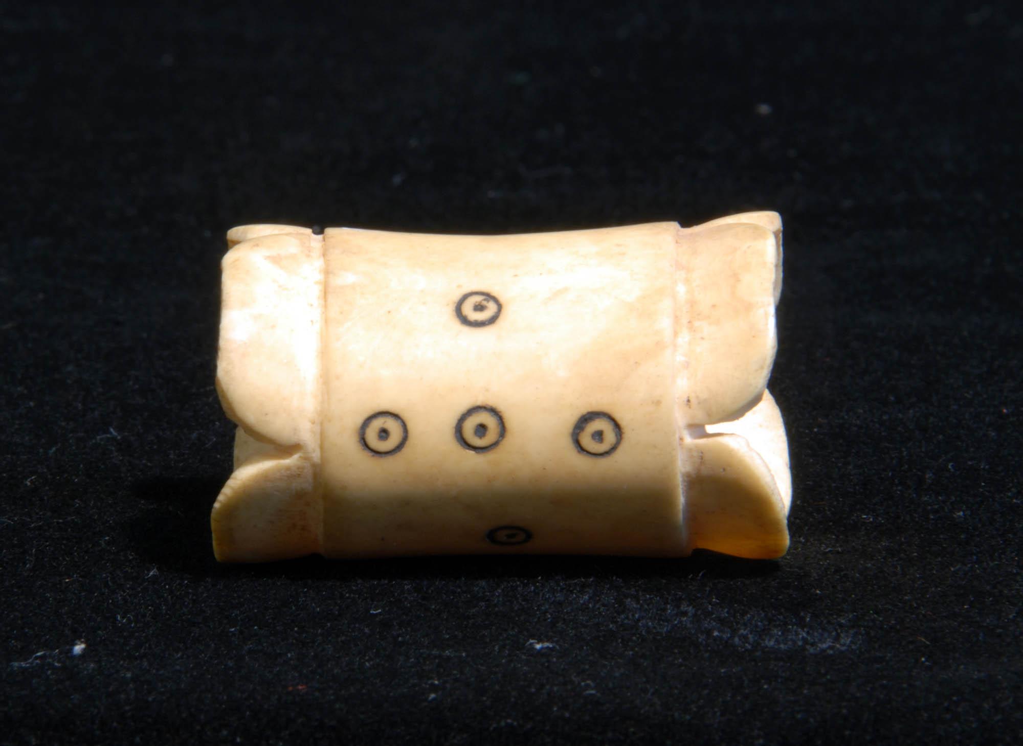 Ivory napkin ring