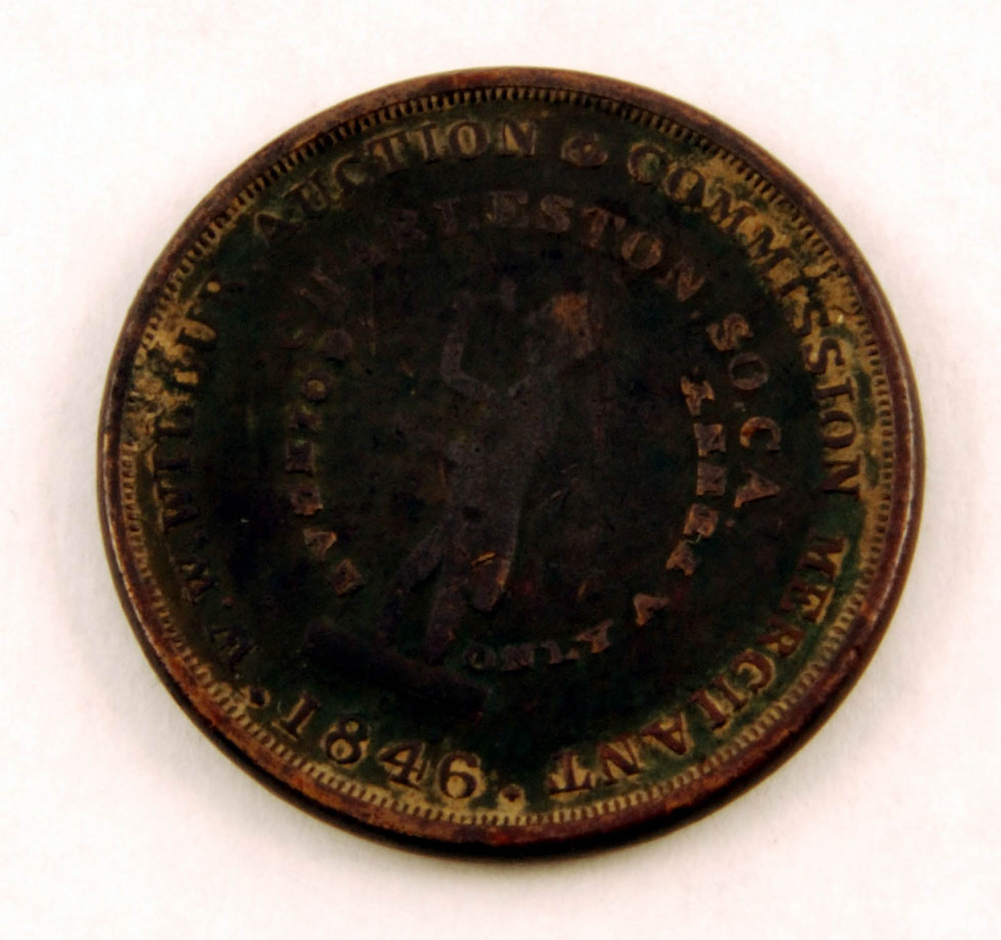 Slave auctioneer's token