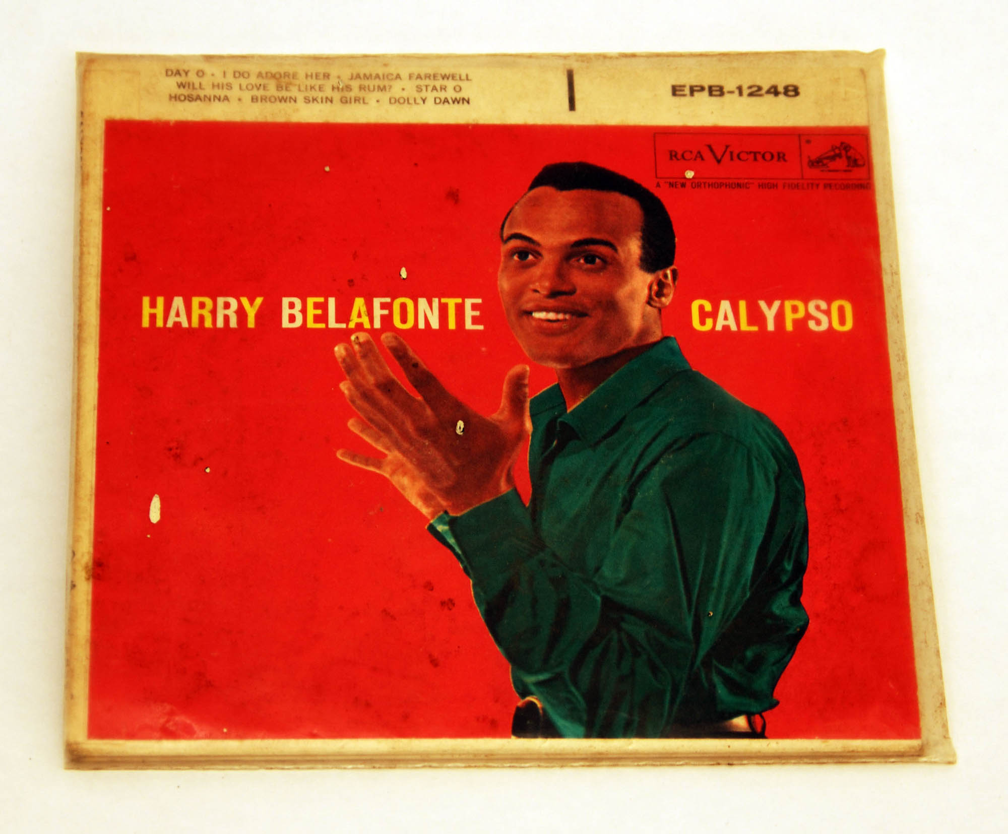 """Calypso"", Harry Belafonte records"