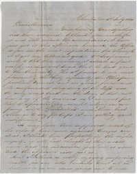 443.  Edward Barnwell to Catherine Osborn Barnwell -- July 5, 1854