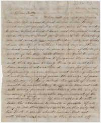 419.  Edward Barnwell to Catherine Osborn Barnwell (sister) -- ca. 1851