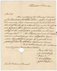 012.  Sarah Dehon to William H. W. Barnwell -- February 7, 1834
