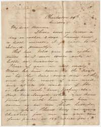465.  Edward Barnwell to Catherine Osborn Barnwell -- ca. 1861