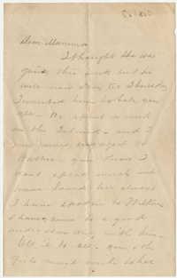 463.  Edward Barnwell to Catherine Osborn Barnwell -- ca. 1860
