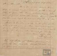 311. Francis Lynch to Bp Patrick Lynch -- September 24, 1863