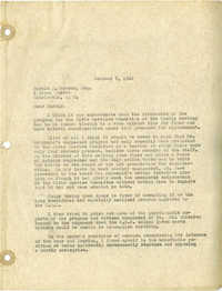 Folder 32: Albert Simons Letter
