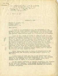 Folder 17: Albert Simons Letter