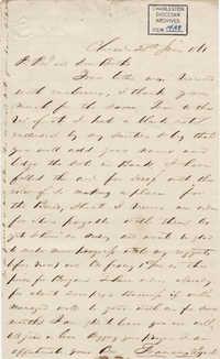 161. Francis Lynch to Bp Patrick Lynch -- June 28, 1861