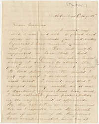 399.  Edward Barnwell to Catherine Osborn Barnwell -- May 15, 1850