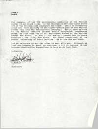 Letter from Michael M. Linder to Dwight C. James, July 6, 1990