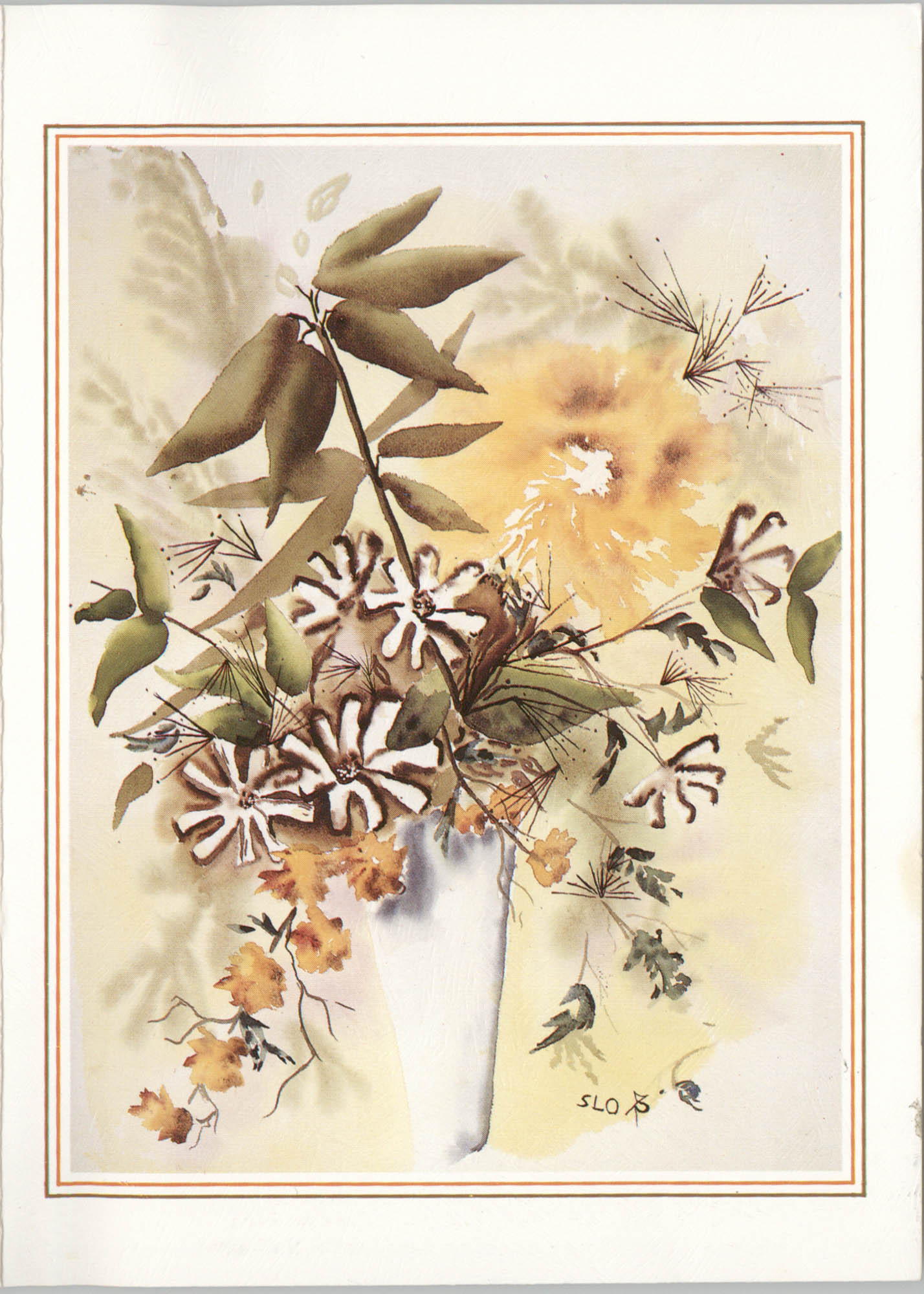 Card from Laura Heyward Gregg to Leroy F. Anderson, April 6, 1989
