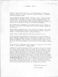 Eugene C. Hunt Biography
