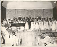 Photograph of People at a Formal Event at Talladega College