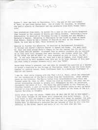 Eugene C. Hunt Biography,