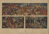 The Amistad, Three Painted Panels
