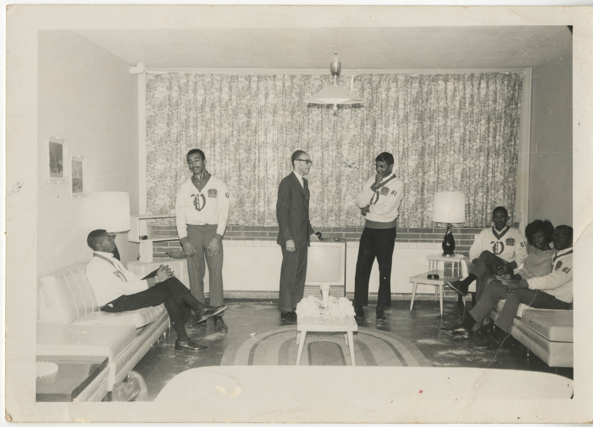 Photograph of Eugene C. Hunt and Friends