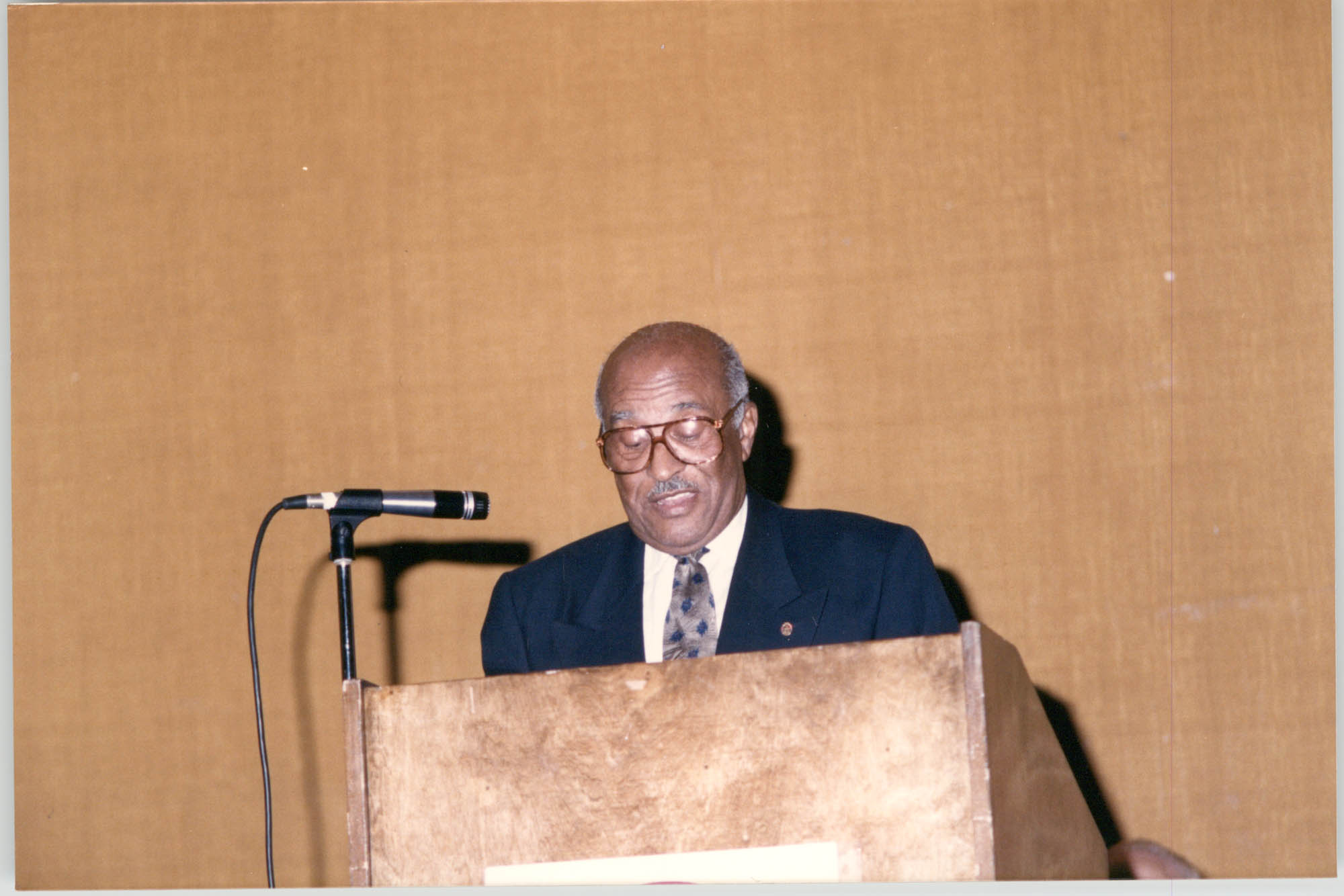 Photograph of James M. Graves at a College of Charleston Event