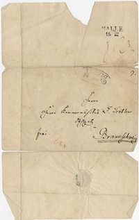 Letter from Mendelssohn to Tretbar, December 14, 1839