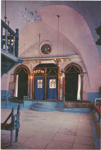 צפת, בית הכנסת האר''י הספרדי / Safad, The Sephardic Synagogue of the