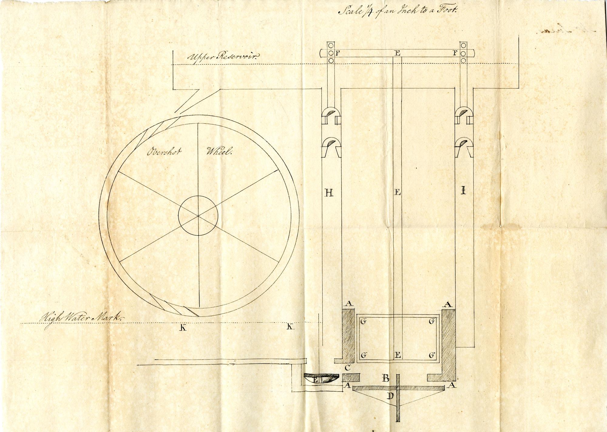 Mr. Lucas mechanical drawing.