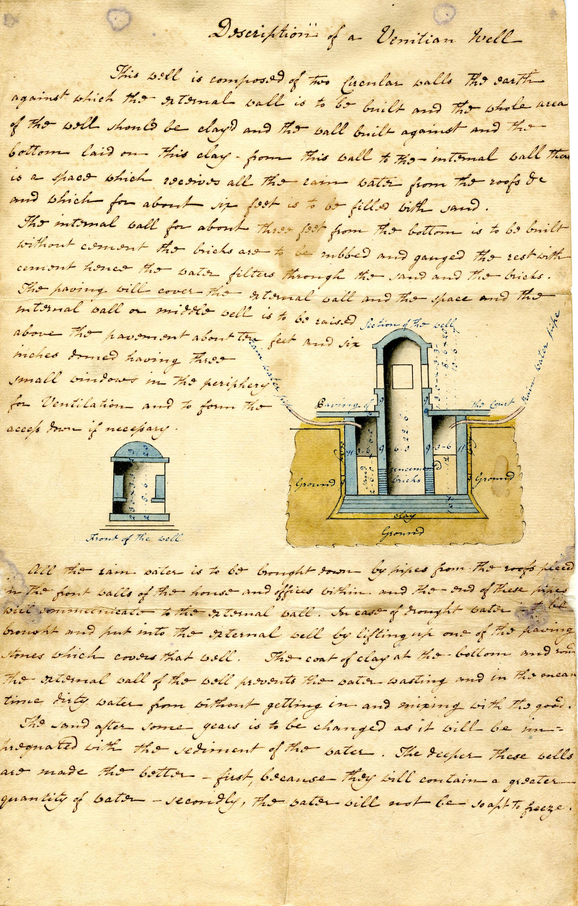 Venetian Cistern