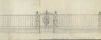 91 Anson Street gate and fence