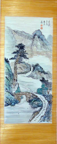 Chinese wall hanging