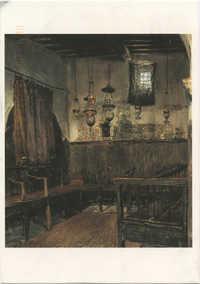 Intérieur de synagogue à Tripoli