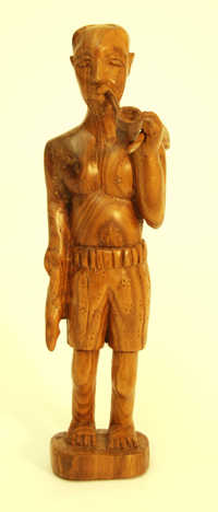 Wooden statuette